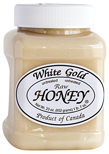 White Gold Raw Honey, 23 Ounce