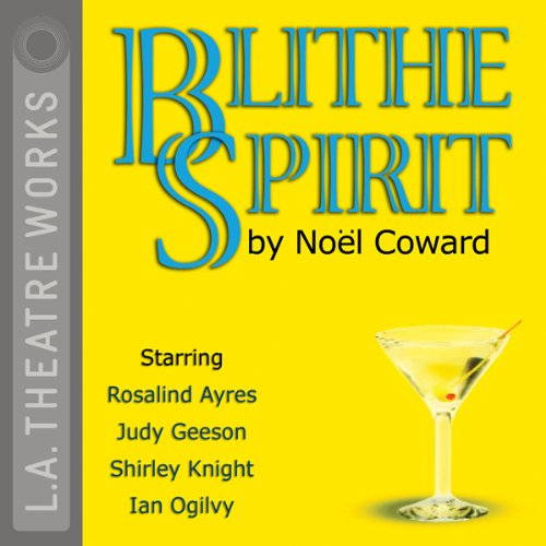 Blithe Spirit                   By:                                                                                                                                 Noel Coward                               Narrated by:                                                                                                                                 Rosalind Ayres,                                                                                        Shirley Knight,                                                                                        Judy Geeson,                   and others                 Length: 1 hr and 44 mins     73 ratings     Overall 4.4
