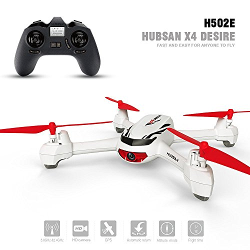 Hubsan H502E X4 Desire Quadrocopter Drohne mit 720P HD Kamera RTH Funktion und Altitude Hold Modus