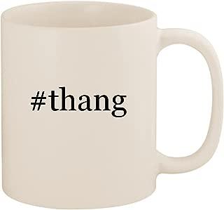 #thang - 11oz Ceramic Coffee Mug Cup, White