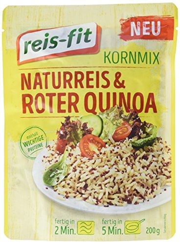 reis-fit Kornmix, Naturreis & roter Quinoa  (1 x 200 g)