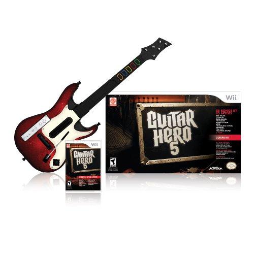 Wii Guitar Hero 5 Guitar Bundle New Mexico