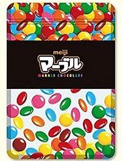 森本産業 明治のお菓子 ジッパーバッグM マーブルチョコレート [066714]