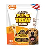 Nylabone Pop-in Dog Treat Refills for Treat Toy Combo Chicken Flavor 30 Count
