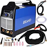 Riland TIG Pulse ACDC 200 Amp IGBT Tig/Stick Welder with trigger switch torch 230V±15% Standard #26 TIG torch