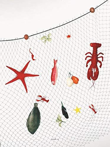 Artif-déco-mag.com - Filet de Peche Garni 13 Pieces en Plastique soufflé L 2000x1500 mm
