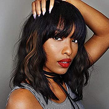 Best wigs with bangs human hair Reviews