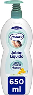 Nenuco Jabon Líquido con olor a colonia Nenuco dosificador - 650 ml