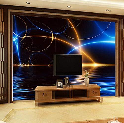 3D vliesbehang fotobehang premium fotobehang textuur 3D wall ceiling mural wallpaper voor plafond woonkamer achtergrond KTV bar 3D plafond Mural 3D muur foto Mural 400*280 400 x 280 cm.