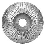 PBOHUZ Amoladora Angular - Amoladora Angular de 85 mm Muela abrasiva Disco de formación de espeleología de Madera Redonda de Acero de Alta Velocidad