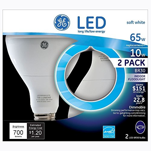 of ge video converters dec 2021 theres one clear winner GE LED BR30 Indoor Floodlight Bulb (2 pk.) - Energy Star Certified