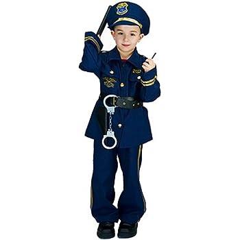 Matissa niños Oficial de policía Juego de Roles Disfraz y ...