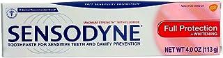 Sensodyne Maximum Strength Anticavity Toothpaste for Sensitive Teeth - 4 Oz, 2 PACK