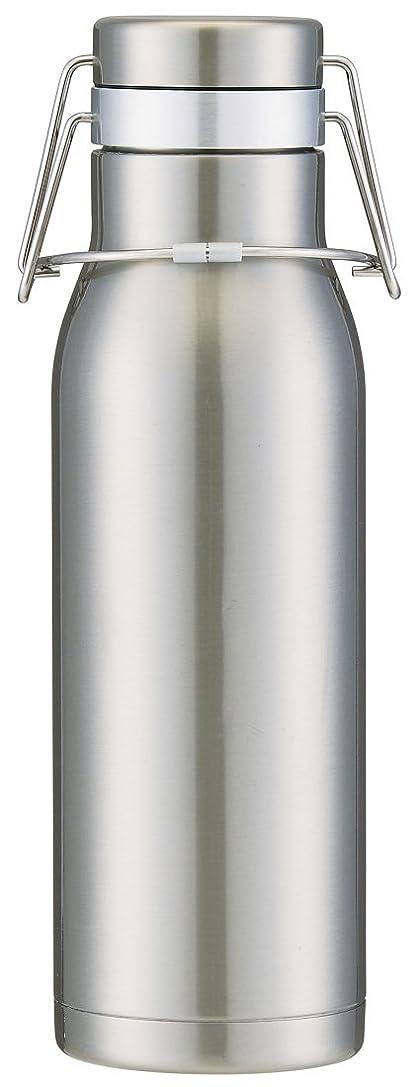 ナンセンスコモランマスキームスケーター 超軽量 保冷専用 スイングロック式 水筒 ステンレスボトル 1L シルバー SSW10
