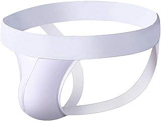 BaronHong Men's Athletic Supporter Solid Color Briefs Performance Jockstrap Underwear