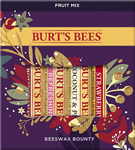 Burt's Bees Beeswax Bounty Fruit Gift Set