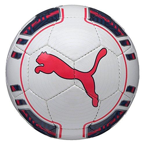 PUMA Fußball EVO Power 5 Futsal, White/Peacoat/Bright Plasma, 4