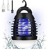 AMBOTHER Lampe Anti Moustique Electronique UV LED 500V Efficace 90m² Répulsif Moustique Tueur Etanche IP67...