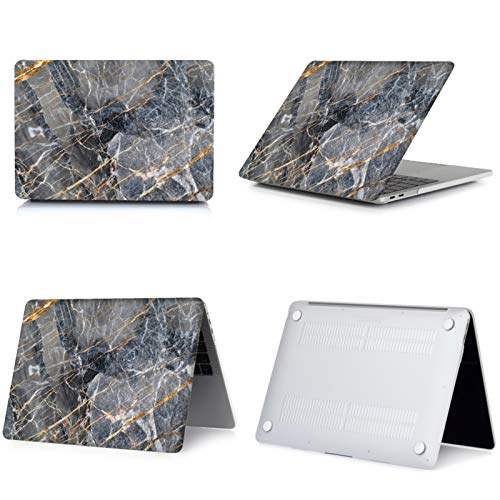 WSY Marble Hard Shell Laptop Case for Macbook Pro 13 M1 Case A2289 A2251 Pro 16 15 12 Touch ID for Macbook Air 13 Case (Color : 014, Size : Model A1707 A1990)