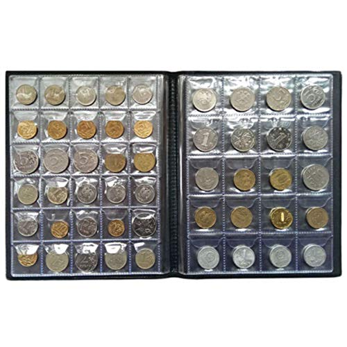 Save %20 Now! CoCocina 250 Coin Holder Collection Storage Collecting Money Penny Pockets Album Book ...