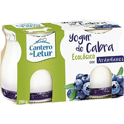 Yogur de cabra con arándanos Cantero de Letur, 250 g