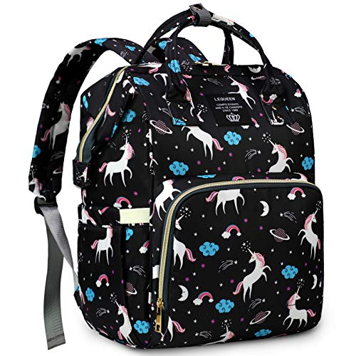 MiGer Diaper Bag Backpack for Mom Dad, Maternity Nappy Bags,...