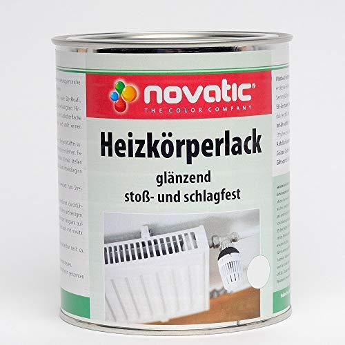 novatic Heizkörperlack, weiß, 0,375 Liter