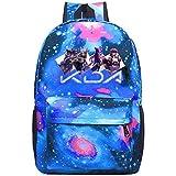 Galaxy School Bags Akali_KDA Casual Rucksack Backpack Waterproof For Kids Teens