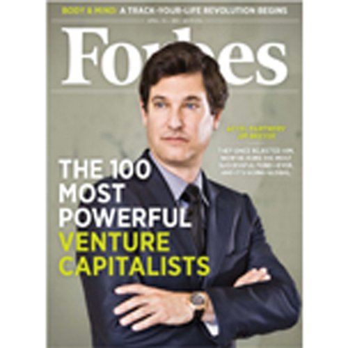 Forbes, April 11, 2011 audiobook cover art