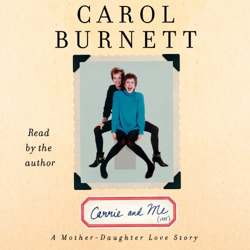 Carrie and Me audiobook cover art