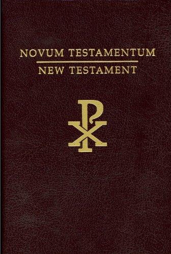 New Testament English/Latin Rheims Version