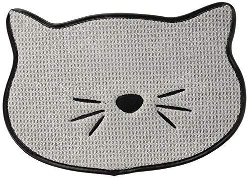 Bone Dry Embroidered Microfiber Cat Shape Pet Food