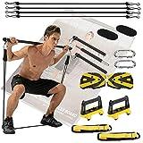 JEMPET Un équipement de gym portable pour la maison – Une salle de gym complète avec tous les accessoires pour les...