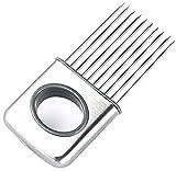 ShineVGift Easy Onion Holder Slicer Vegetable tools Tomato C