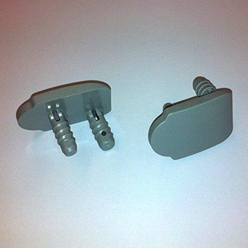 VELUX Montageträger Pick&Click oder Loch/Schlitz Weiss oder grau (Pick&Click ab Nov.2003, grau)