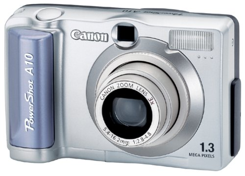 Canon PowerShot A10 1.3MP Digital  Camera w/ 3x Optical Zoom