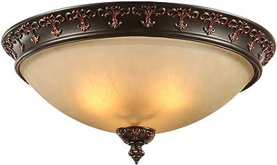 Lighting Searchlight York Semi New encastré Antique Et Verre