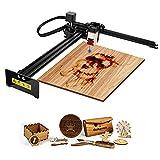 Oakeroo 30W Laser Engraver, CNC Router Machine for Wood and Metal, Laser Engraving Printer Cutter, DIYLogoMarkingwith32-bitMotherboardAPPWirelessControlLaserGRBL,LightBurn