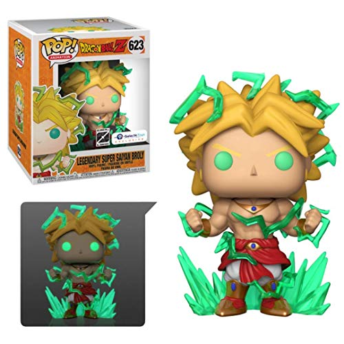 Galactic Toys Funko Pop! DBZ Broly 6\ Exclusive - 1 in 6 Chase