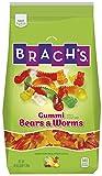 Brach's Assorted Gummy Bear and Gummy Worm Mix, 3 Pound Bulk Candy Bag