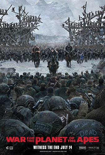 Poster War For The Planet of The Apes Movie 70 X 45 cm