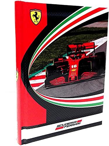 Ferrari Cavallino Agenda scolaire 2021 22 + porte-clés sifflet + stylo à paillettes