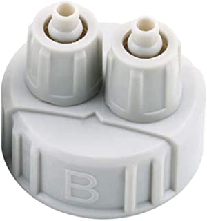 DIY ABS CO2 System Kit Generator Part Bottle Cap avec Tubes Light Weight (Light Grey)