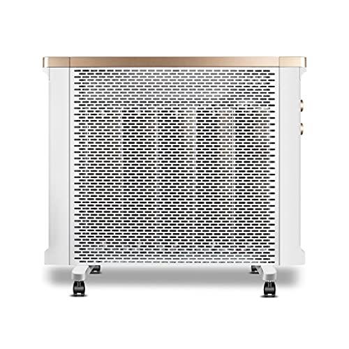 Dongxiao Calefactores Calentador del radiador del Calentador del Panel Mica con termostato Ajustable y 3 configuraciones de Calor Protección de Seguridad de Seguridad