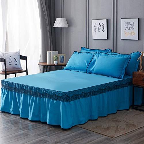 huyiming Gebruikt voor Plain bed rok/modern minimalistisch beddengoed