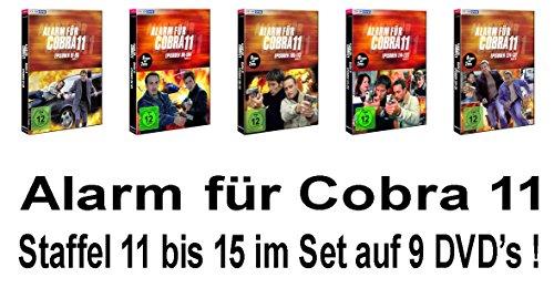 Staffel 11-15 (9 DVDs)