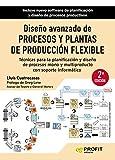 Diseño avanzado de procesos y plantas de producción flexible NE: Técnicas para la planificación y diseño de procesos mono y multiproducto con soporte informático