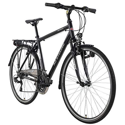 KS Cycling Trekkingrad Herren 28'' Canterbury schwarz Aluminiumrahmen Tourenlenker RH58cm