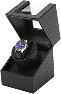 Single Automatic Watch Winder,Antimagnetic design,Silent design, low energy consumption,Delicate and compact.