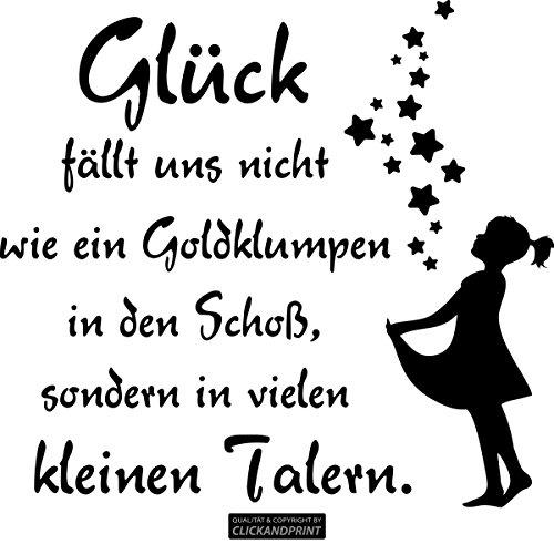 CLICKANDPRINT Aufkleber » Sterntaler, 30x27,5cm, Schwarz • Wandtattoo/Wandaufkleber/Wandsticker/Wanddeko/Vinyl